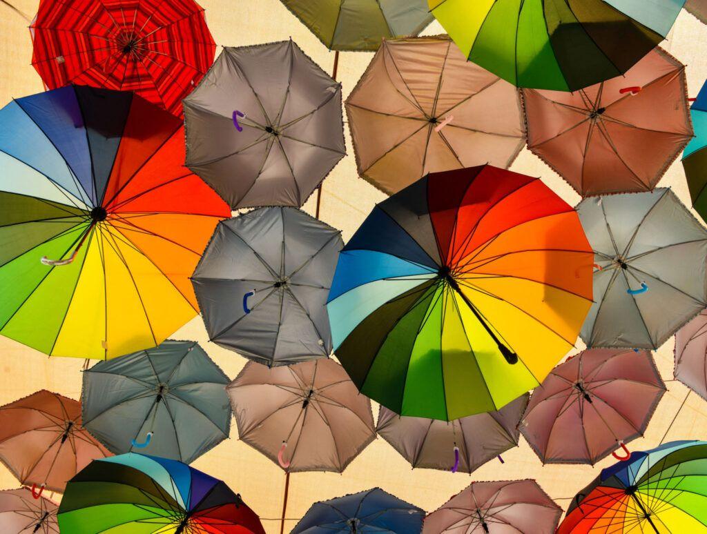 Flyvende paraplyer